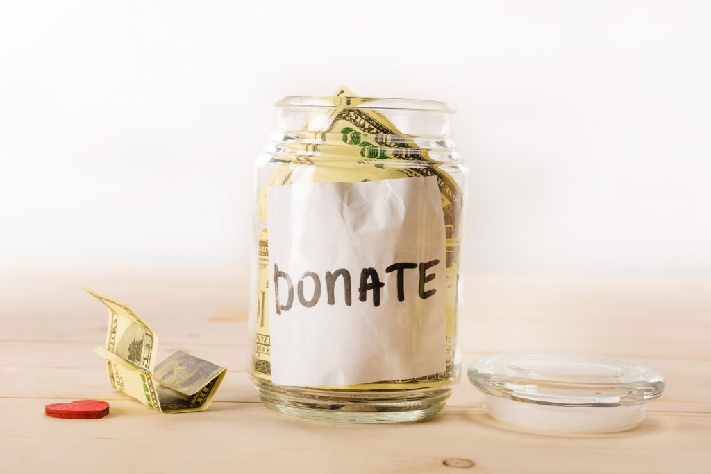 Bitcoin Spenden