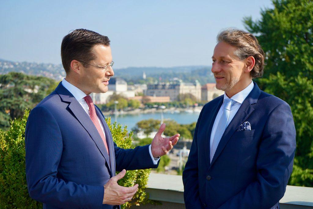 Stephan Zwahlen und Mark Dambacher