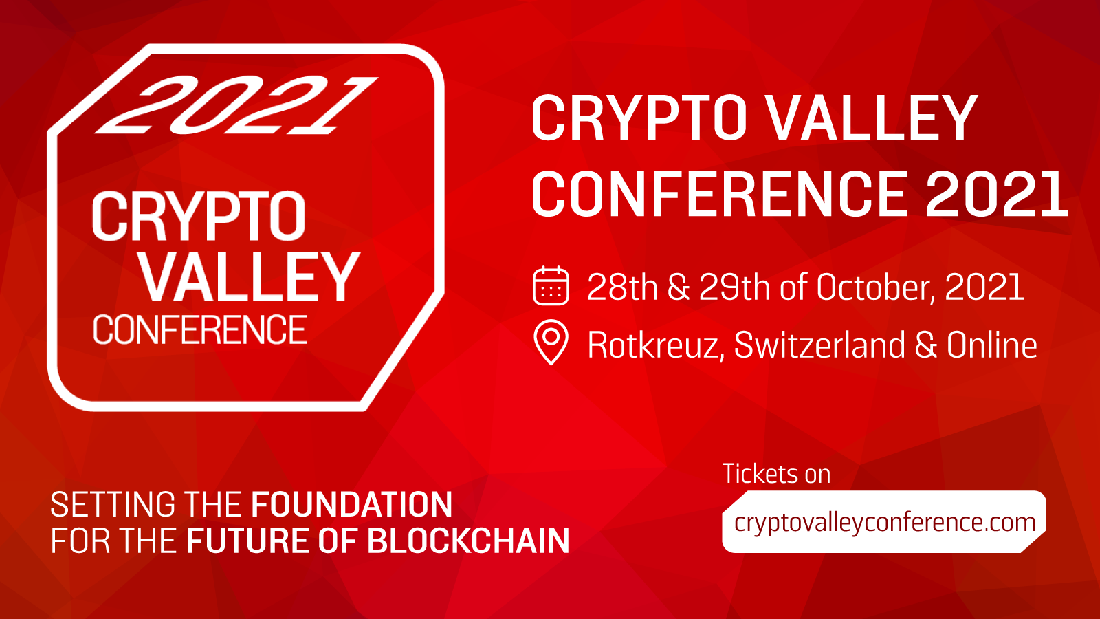 Crypto Valley Conference 2021